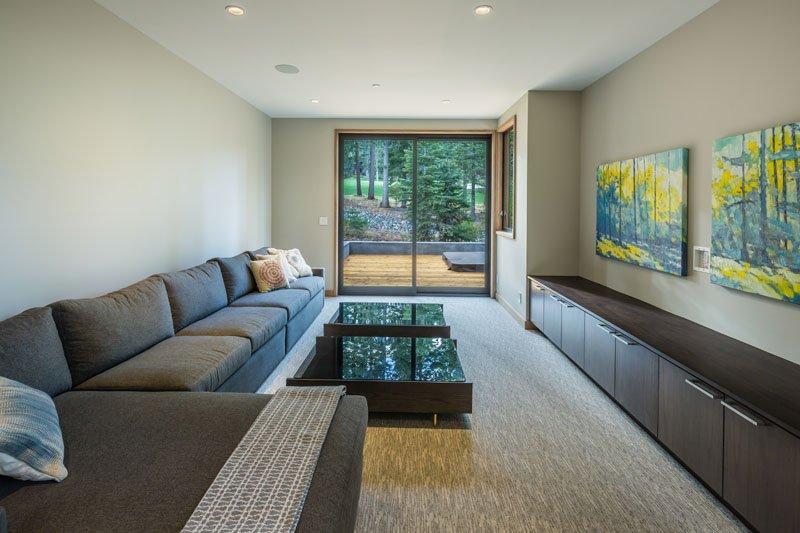 Sage Modern living area