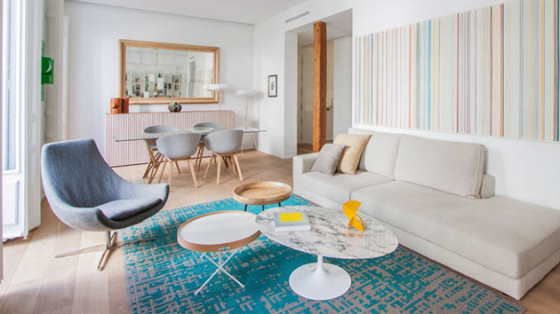Bright And Airy Modern Apartment In Madrid Spain Home Design Lover