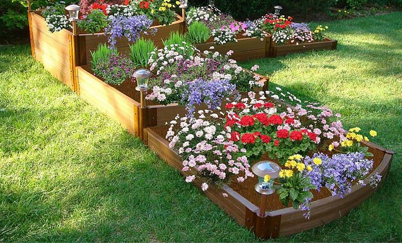 3-Tier Waterfall Raised Bed