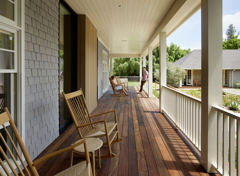 Wine Country Farmhouse deck