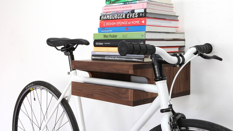 The (Original) Bike Shelf