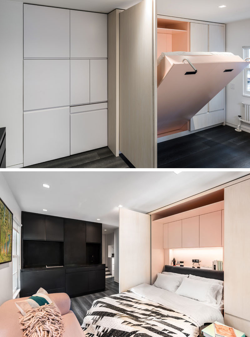 Micro Apartment bedroom