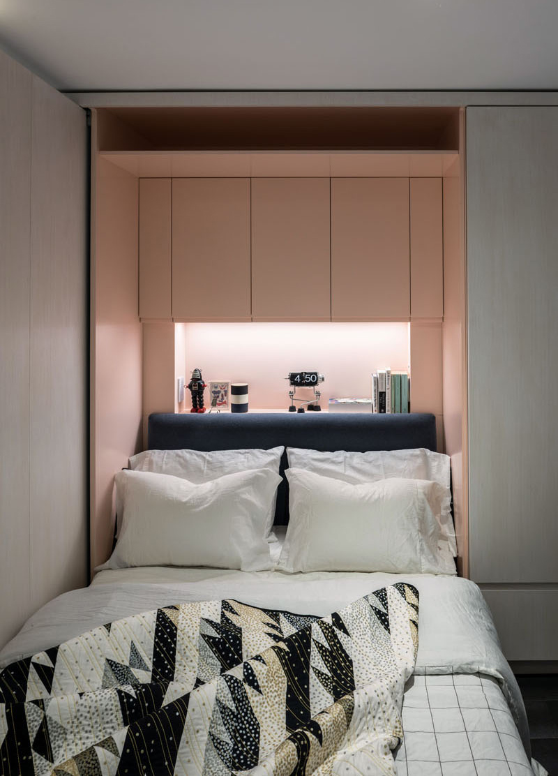 West Village Micro Apartment Turns Into A Multi Functional