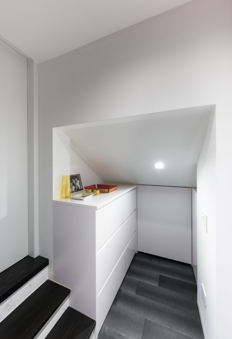 Micro Apartment three spaces