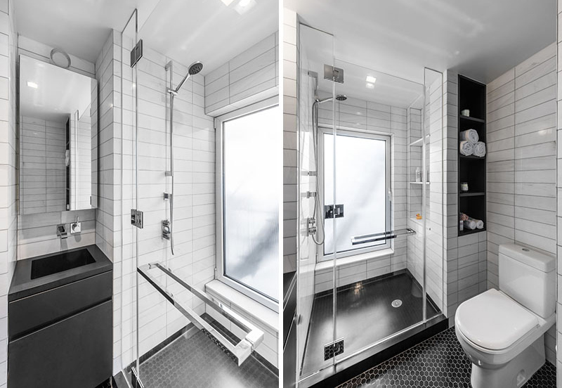 Micro Apartment bathroom