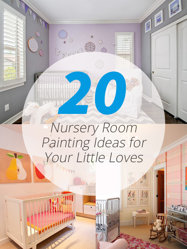 nursery room painting ideas