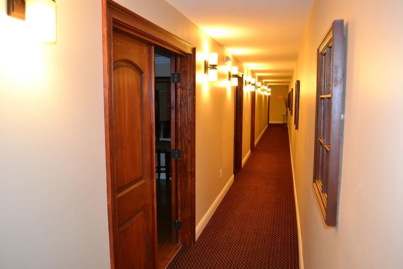Nuclear Bunker hallway