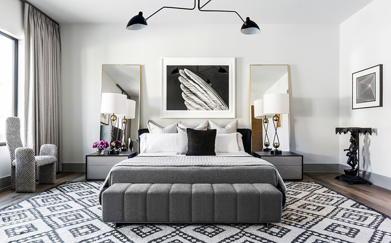 40 Gray Beds In Beautifully Designed Bedrooms Home Design Lover Gorgeous Designed Bedrooms