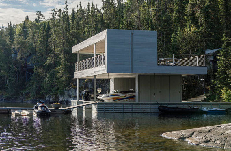 A Modern Boat House with Spectacular Vistas | Home Design ...