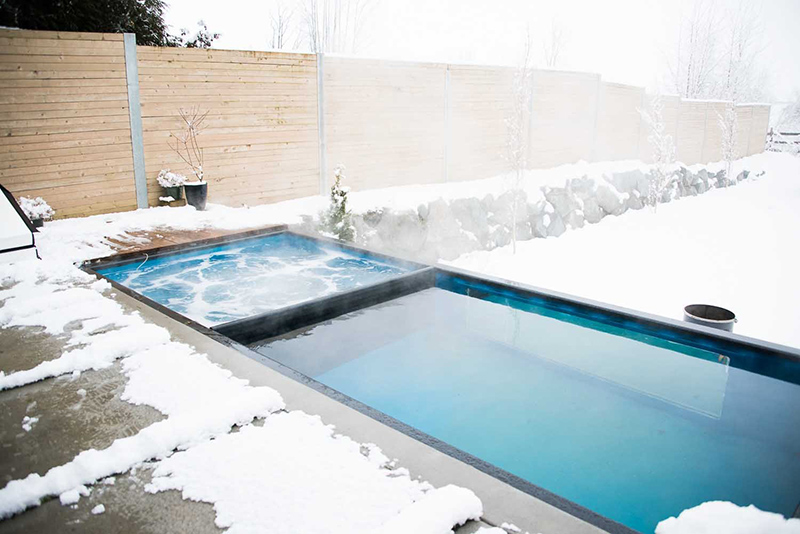 Shipping Container Swimming Pool An Innovative Pool Design For Your Home Home Design Lover