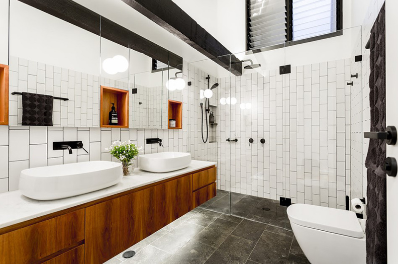 20 Beautiful Bathrooms With Vessel Sinks Home Design Lover