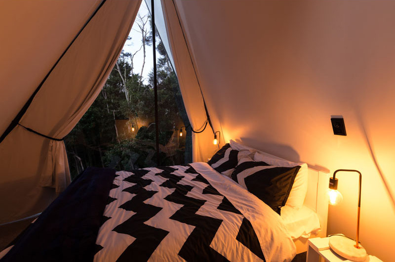 Tent House bedroom