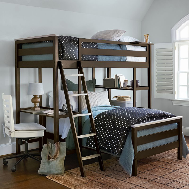 Levi Loft Twin Bunk Bed