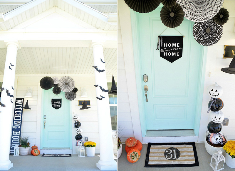 The Witching Hour Of Halloween Porch
