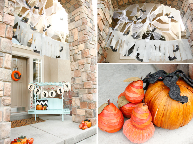 Festive Halloween Porch