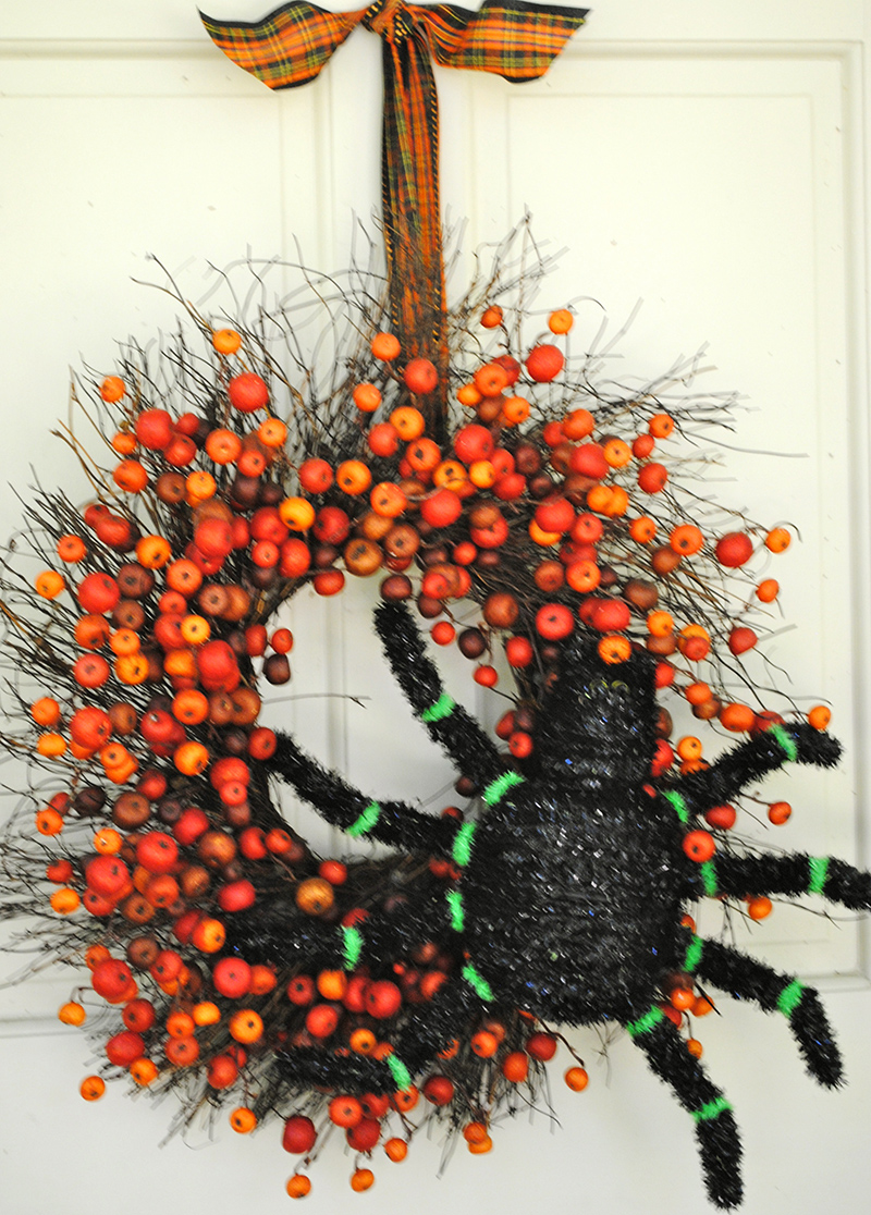 Spiders Fall Wreath