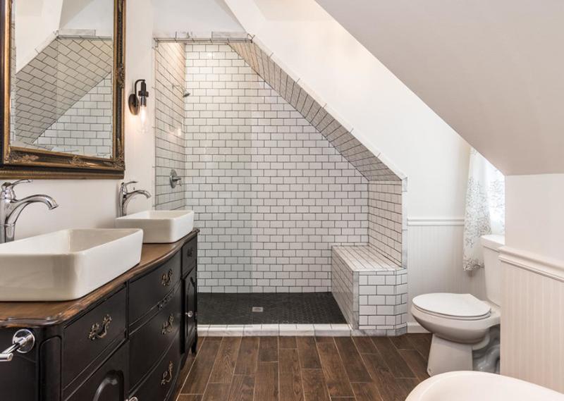 Eclectic Gable Bath