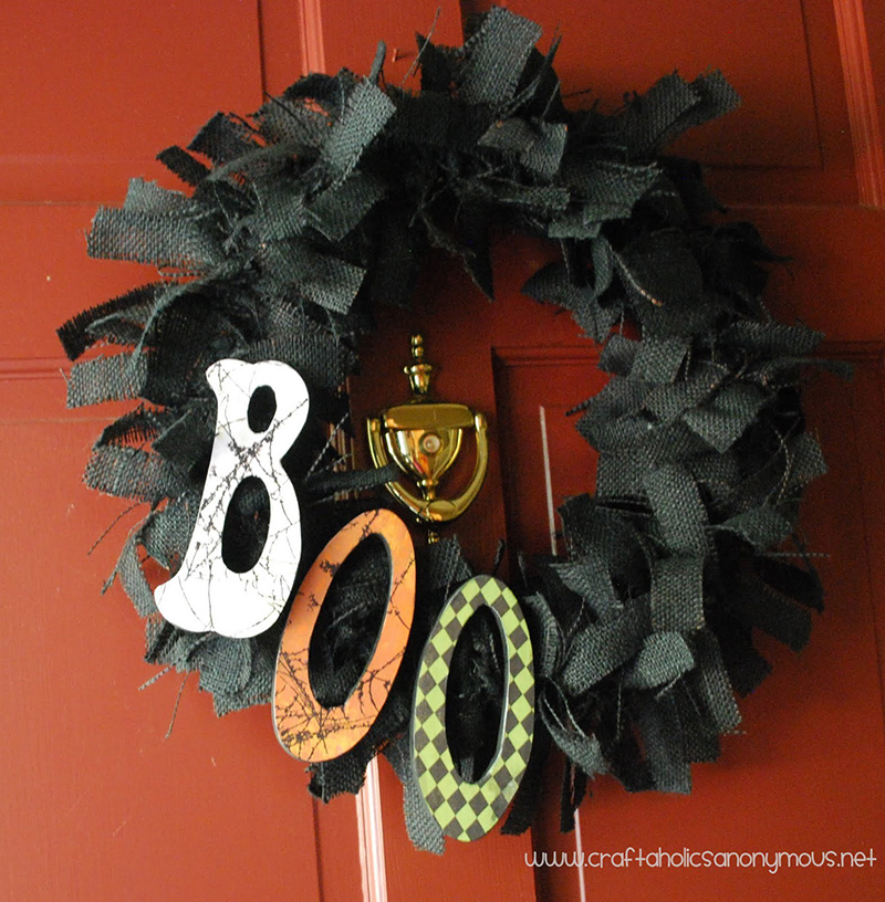 20 Awesome DIY Halloween Wreaths Designs