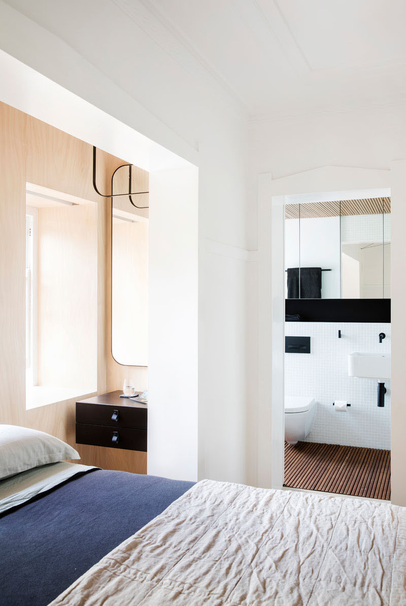 Small Sydney Apartment bedroom