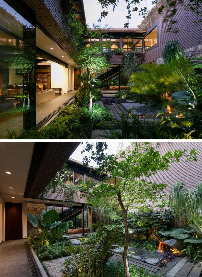 Casa OM1 garden