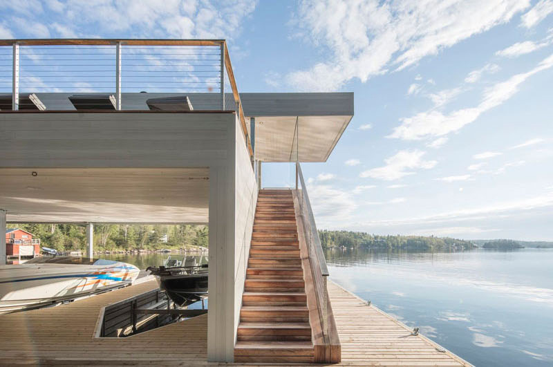 Boat House stairs