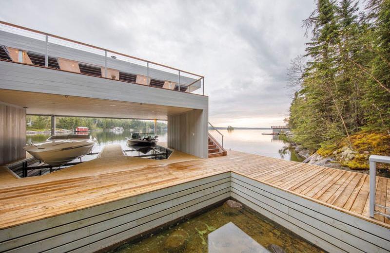 Boat House landscape