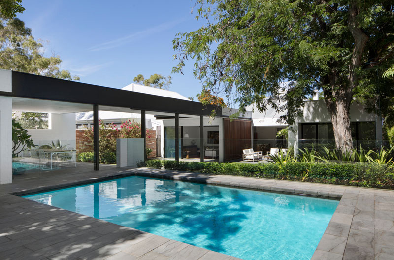 Claremont Residence's Rectangular Swimming Pool