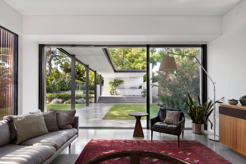 Claremont Residence living