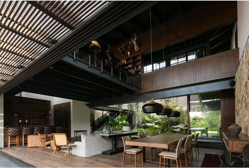 Casa OM1 interior