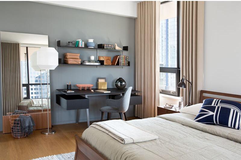 Beatty Loft bedroom