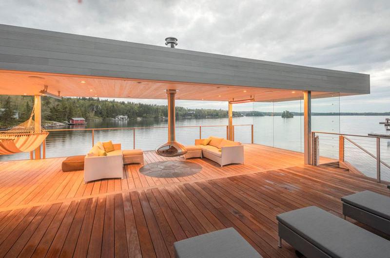Boat House upper deck