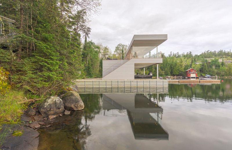 Boat House vegetation