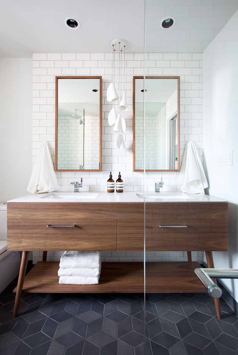 Mid Century Modern Bathroom Design Ideas