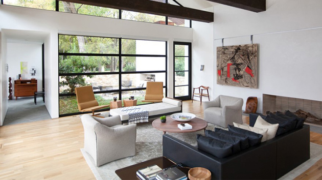 20 Living Rooms With Floor To Ceiling Windows Home Design Lover