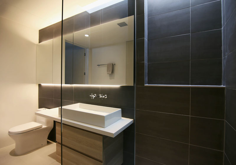 Chino Canyon guest bathroom