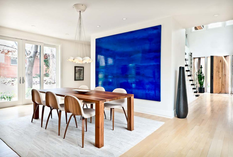 20 Modern Contemporary Dining Rooms With Light Wood Flooring Home Design Lover