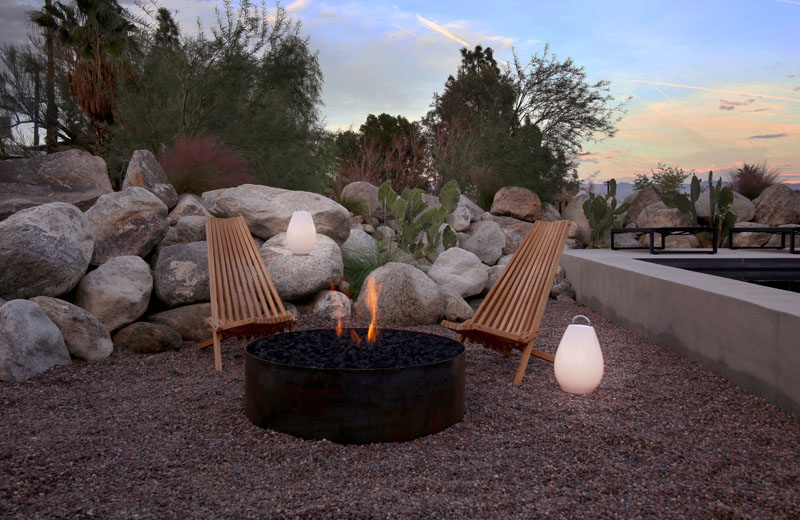 Chino Canyon fire pit