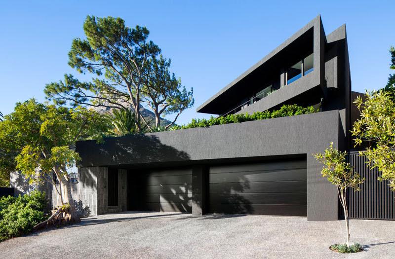 Dark Modern Home