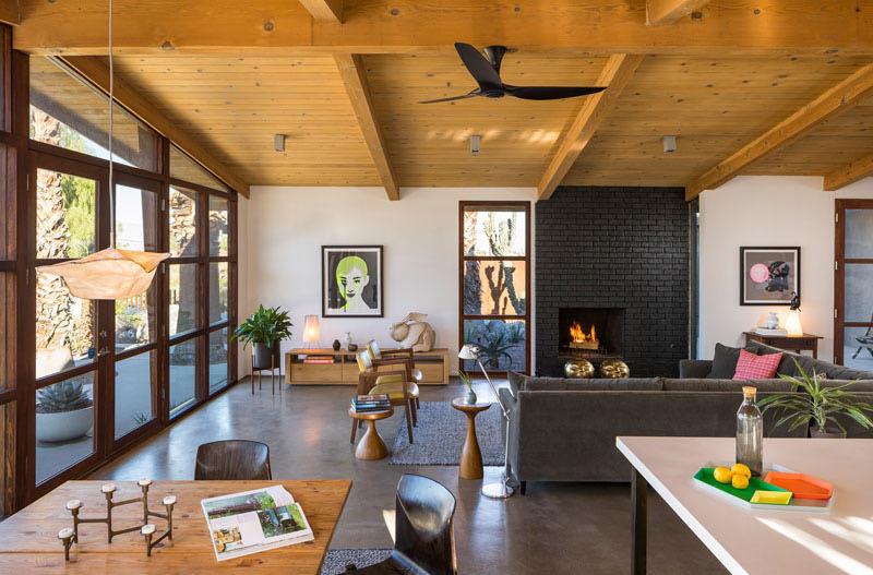 Chino Canyon living room