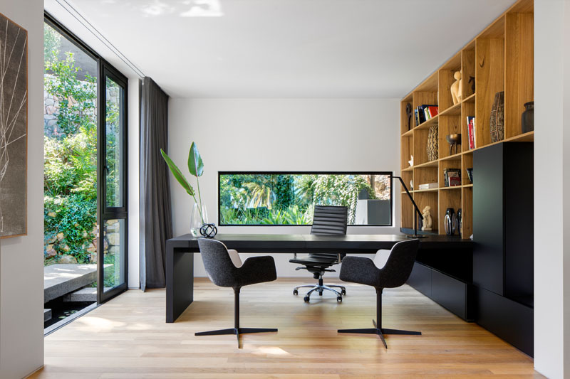 Dark Modern Home office