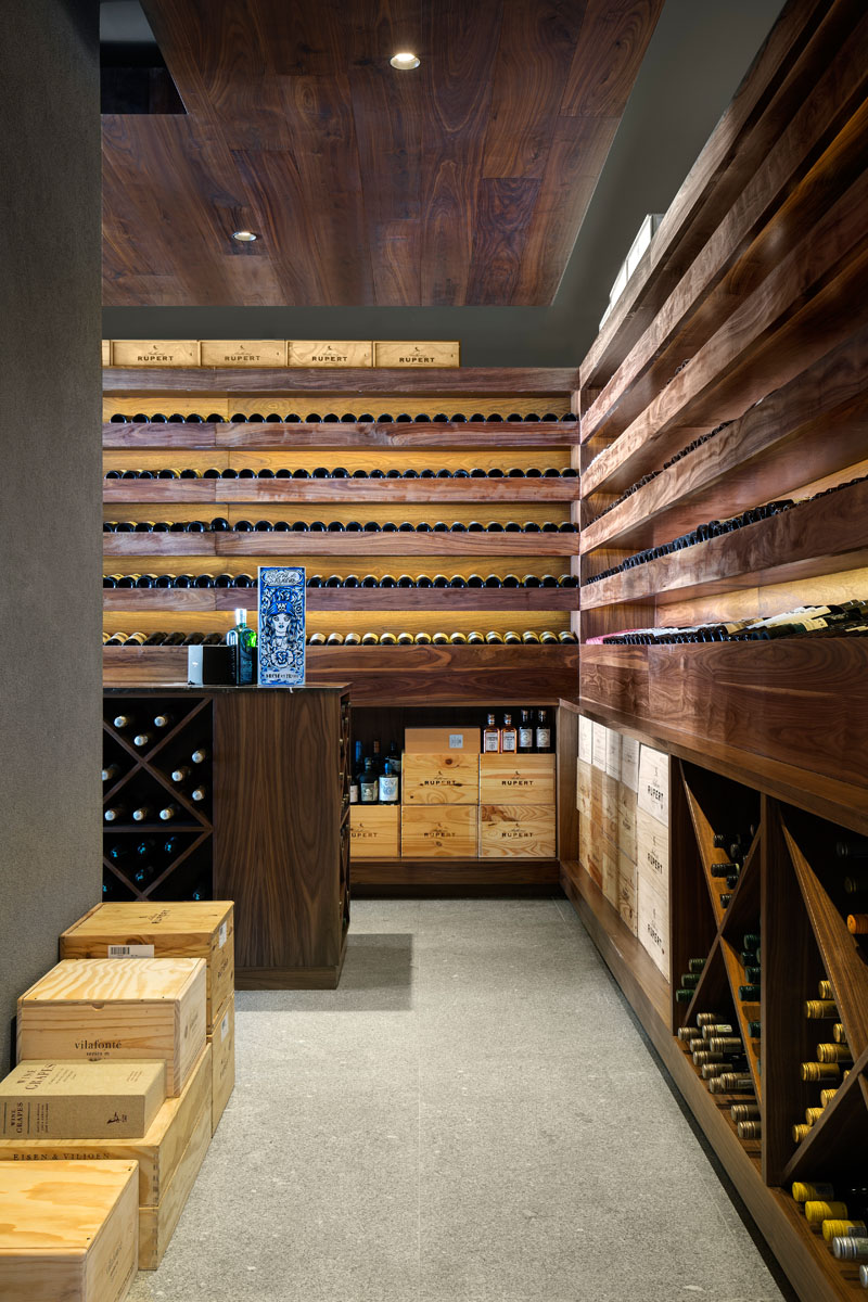 Sea Lion wine cellar