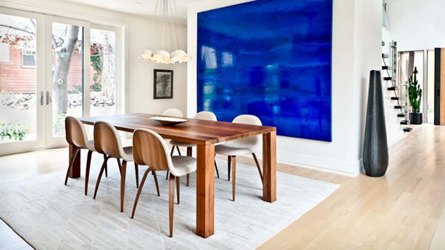 20 Modern Contemporary Dining Rooms With Light Wood Flooring