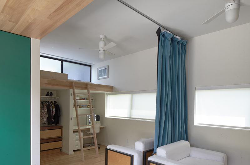 Shelton Residence loft bed