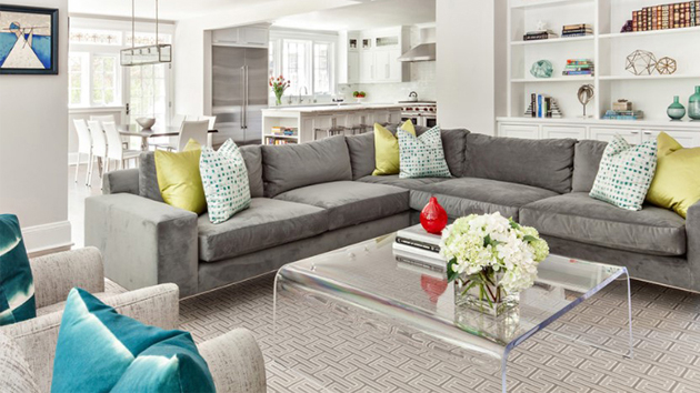 20 Gray L-Shaped Sofa for the Living Room | Home Design Lover