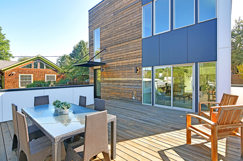 Capitol Hill 5-Star Built Green Home terrace