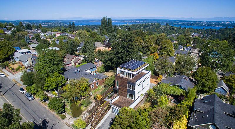 Capitol Hill 5-Star Built Green Home design
