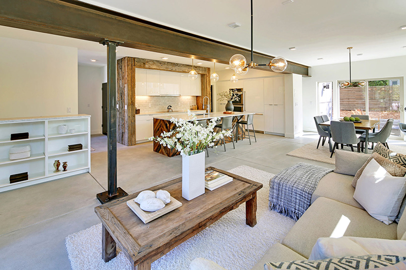 Capitol Hill 5-Star Built Green Home interior