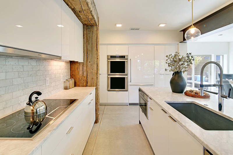 Capitol Hill 5-Star Built Green Home cabinet
