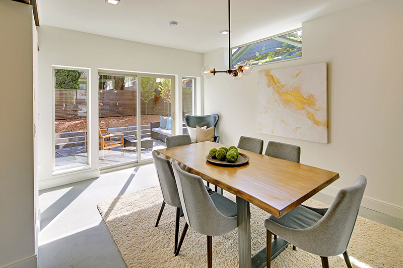 Capitol Hill 5-Star Built Green Home dining