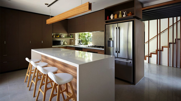 20 Brown Kitchen Cabinet Designs For A Warm Natural Look Home Design Lover